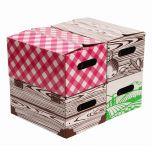 Mason Jar Storage Boxes - Quart - 4 Pack