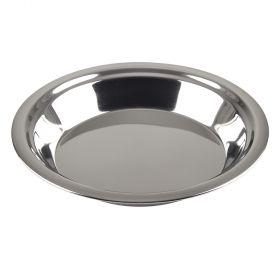"Stainless Steel 9"" Pie Pan"