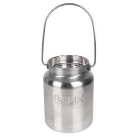 Stainless Steel Gallon Jug - MILK