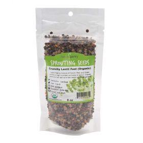 Crunchy Lentil Fest Sprouting Seeds