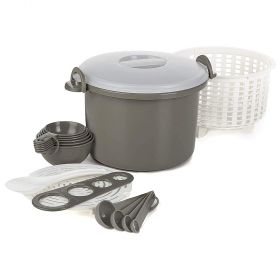 Microwave Rice & Pasta Cooker Set