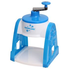 Snowflake Ice Shaver / Snow Cone Maker - Hand Crank