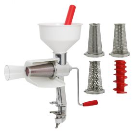 Food Strainer with Screens