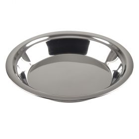 "Stainless Steel 9"" Pie Pan"