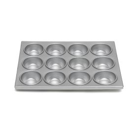 Aluminum Muffin Pan - 12 Cup