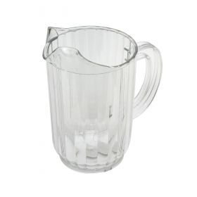 Clear Plastic Pitcher - 32 oz
