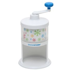 Time for Treats SnowStorm Hand Crank Ice Shaver / Snow Cone Maker