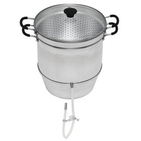 Steam Juicer with Glass Lid (Aluminum)