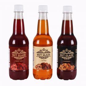 3-Pack Nut Glazes