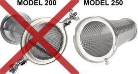 Not for Model 200